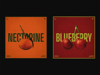 111 ~ nectarine & blueberry. editorial design editorial layout swiss style visual art daily poster visual arts custom type dailyposter photoshop visual design poster design minimalism swiss design poster a day layout visual graphics typogaphy graphicdesign dailyposterdesign
