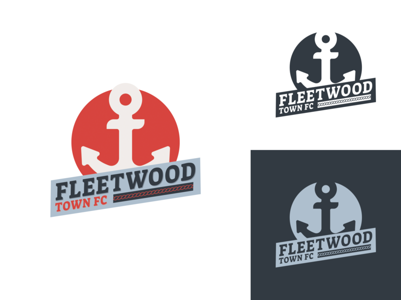 Fleetwood Town FC redesign logo
