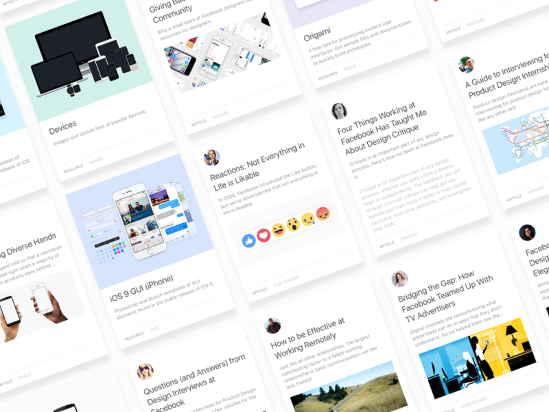 Facebook Design – What's on our mind? reactions ios medium articles resources design facebook