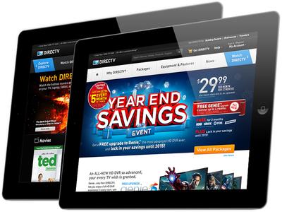 DIRECTV.COM 2013 Redesign