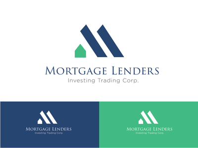 mortgage logo house typography icon vector design daily branding brand logo mortgage realestate