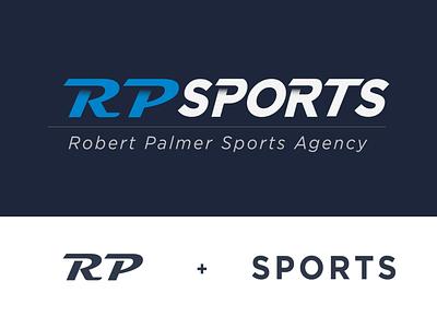Sports Agency Logo Concept sport agency sports illustrator minimal typography vector logo design branding flat