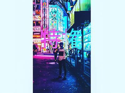 Affluenza JapanEdition gang japan fashion typography daily design vaporwave branding photoshop