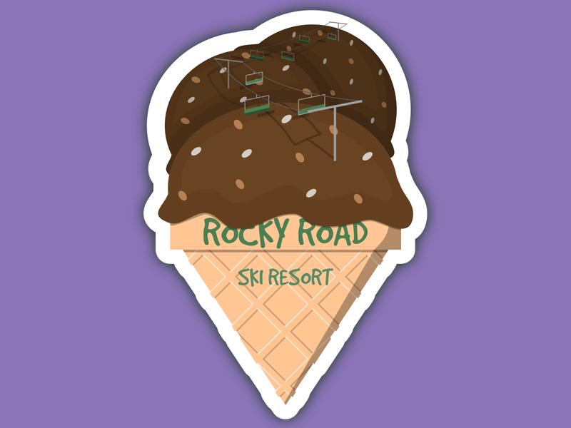 Daily Logo Challenge #8 - Ski Resort Logo