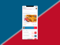 Dominos Redesign :) product design app food app eat bread pizza hut dominos food pizza
