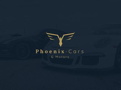 Phoenix, Cars & Motors - Logo design automotive logodesign branding design logo design logo branding