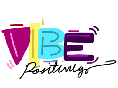 Vibe logo unique creator label mark identity brandidentity brand rythum positive vibes beautiful colourful painting graphics art consert music design logo design concept logo design logo