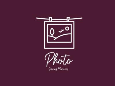 Photo logo unique creator label mark identity brandidentity brand business card card memories beautiful colourful painting graphics art art photo design logo design concept logo design logo