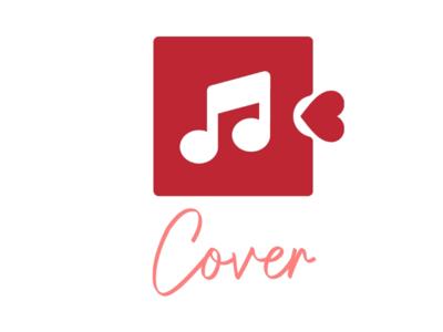 Cover logo unique creator label mark bandidentity identity brand singing music lover love cover beautiful graphics art art rythum music design logo design concept logo design logo
