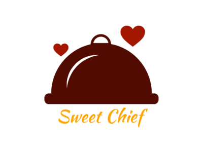 Sweet Chief logo unique creator label mark identity brandidentity brand business card sweet beautiful love spicy graphics art art chief cook design logo design concept logo design logo