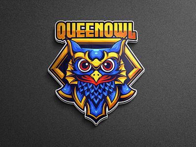 Owl mascot logo owl logo animal illustration animal logo owl team logo logo gaming vector character esports logo branding twitch illustration game