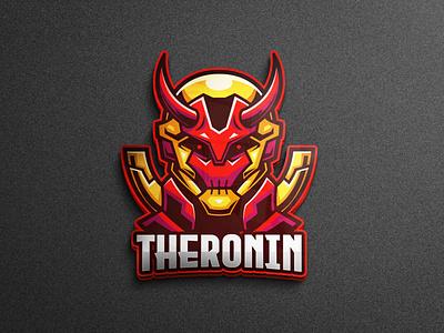 The Ronin Mascot Logo mobile app samurai ronin mobile game mobile legends youtube logo team logo logo gaming tshirtdesign character vector esports logo branding twitch illustration game
