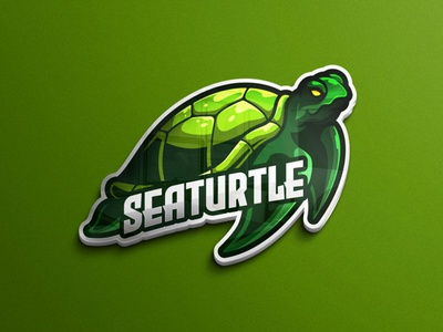 Turtle logo character mobile game website illustration sticker emblem game assets mascot logos sea turtle game logo mascot logo animal logo tshirtdesign vector character esports logo branding twitch illustration game