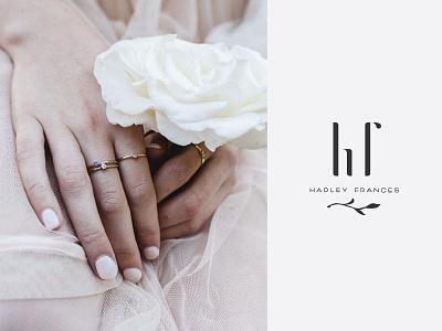 Hadley Frances ii jewelry branding logo