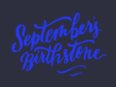 September's Birthstone