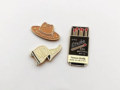 Enamel Pins midwest matchbook hat enamel pin pin