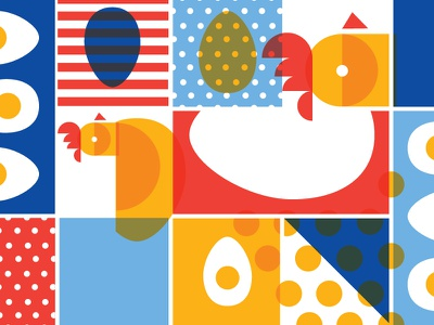 Chickens, Eggs