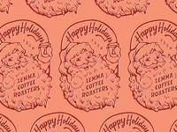 Santa Stamp