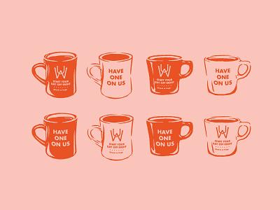 Uncle Wolfies mug breakfast coffee