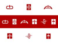 Crossbridge Logo Exploration, Round 1