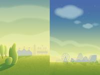 iPad game background