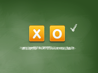 X O Buttons