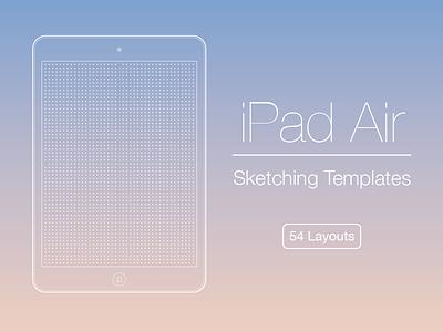 iPad Air Sketching Templates template printable grid free freebie wireframe sketch sketches sketching ipad air 2 ipad air ipad
