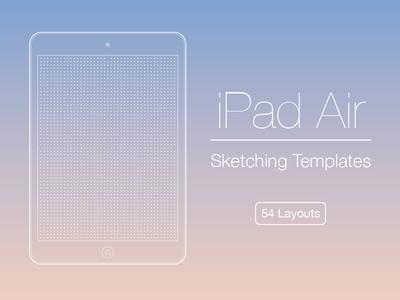 iPad Air Sketching Templates