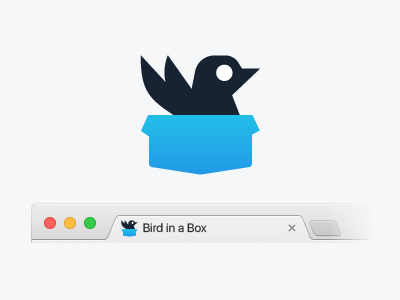 IBM Swift Package Catalog Favicon black blue package swift ibm web favicon box bird
