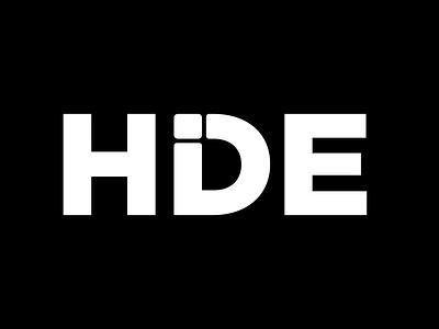 Hide branding vector design minimal hide