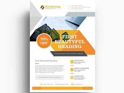 Flyer business flyer marketing