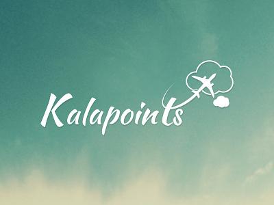 Kalapoints design logo minimal branding points travel