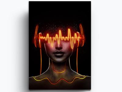 MusicWave music wave photoshop manipulation