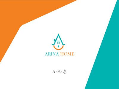 Arina Home logo minimal
