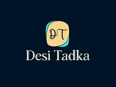 Desi Tadka 01 design desi illustrator logo minimal branding