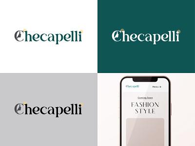Checapelli - E-commerce Logo lady c e-commerce vector icon illustrator logo design minimal branding