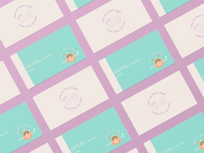 'first bite' - Business card