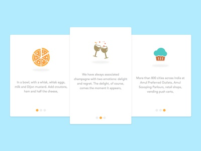 Daily UI#17_ Food And Drinks