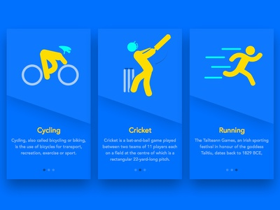 Sports App Walkthrough ipl india score download freebies sketch ios sports cycling running cricket walkthrough