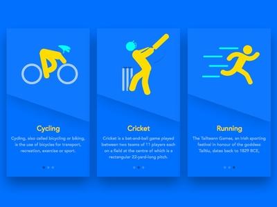 Sports App Walkthrough