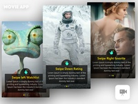 Movie App Tutorial Screen