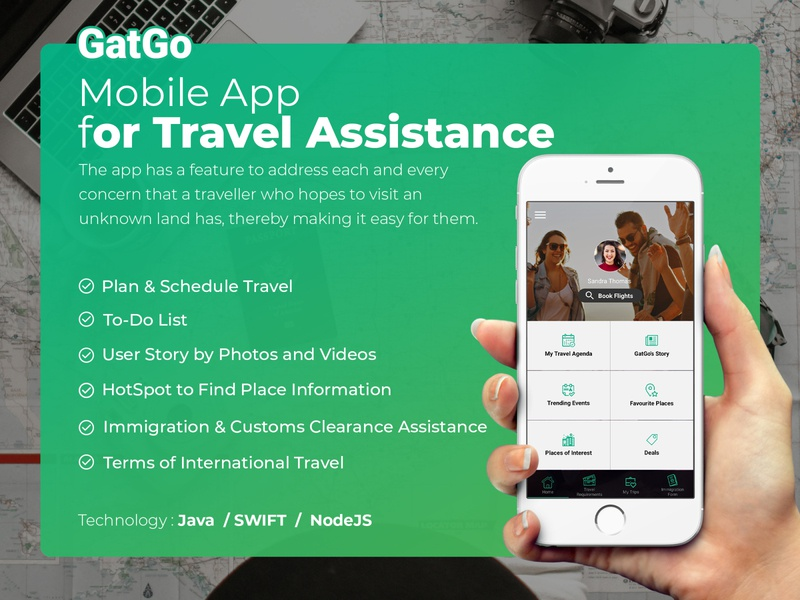 Mobile App for Travel Assistance