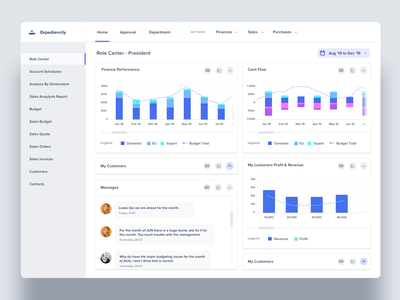 Expediencily : Dashboard for Utility Billing Software electricity water gas account management rate management metered billing metering invoicing utilities utility bills billing dashboard dashboard ui dashboad dashboard design cloud app userinterface saas product design
