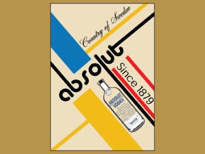 Bauhaus Style Poster