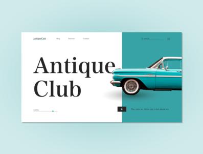 Classic Cars Web Design