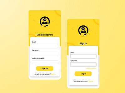 DailyUI001 dailyui web app logo ux ui design