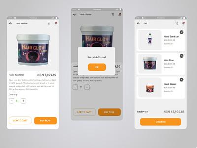 shopping cart illustration ui ux design online shop shopping ecommerce cart