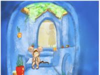 Louie in Trouble children book illustration childrens book illustration procreate fiction digital illustration digital art