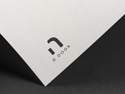 D DOOR LOGO DESIGN animation web vector ux ui typography logo illustration icon design branding app