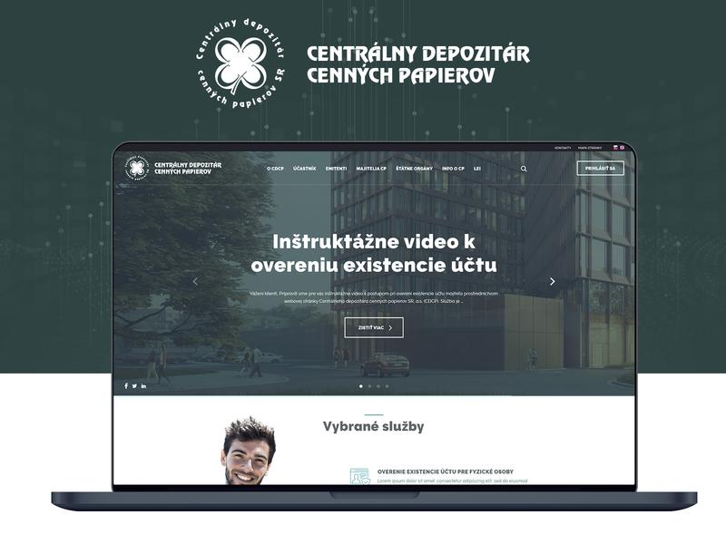 CDCP - Web design